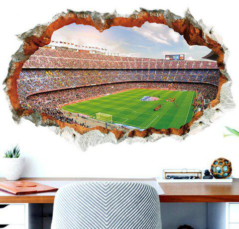 Football  Room Decorative Boy Sport Ball Playground Match Wall Stickers - MEDIUM SPRING GREEN