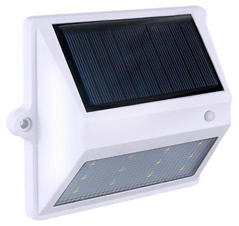 BRELONG 12LEDSolar Light Control Wall Light - Courtyard Garden Lights - WHITE