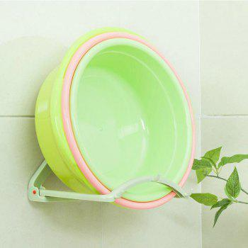 Bathroom Automatic Rebound Basin Rack - FROG GREEN