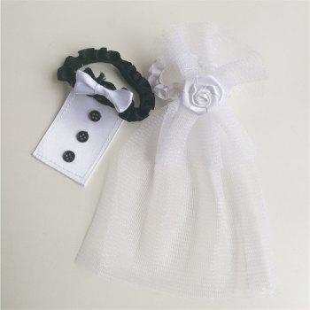 Dress Cup Cover Wedding Decoration - multicolor