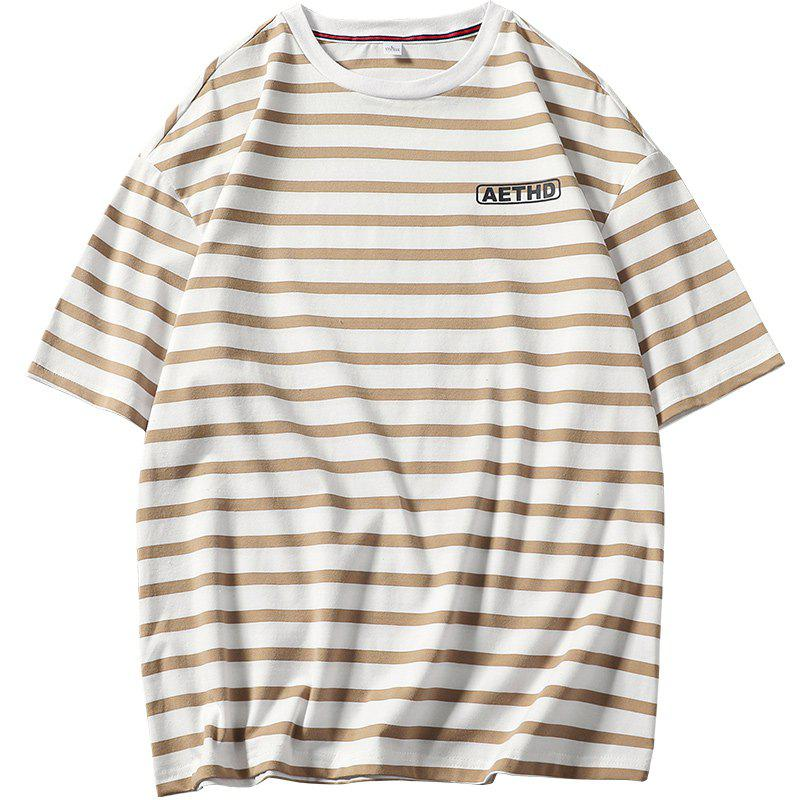 Men's Striped Short Sleeve Tee striped short sleeve tee