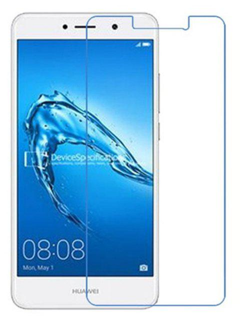 2PCS Screen Protector for Huawei Y7 2017 High Sensitivity HD Full Coverage High Clear Premium Tempered Glass - TRANSPARENT