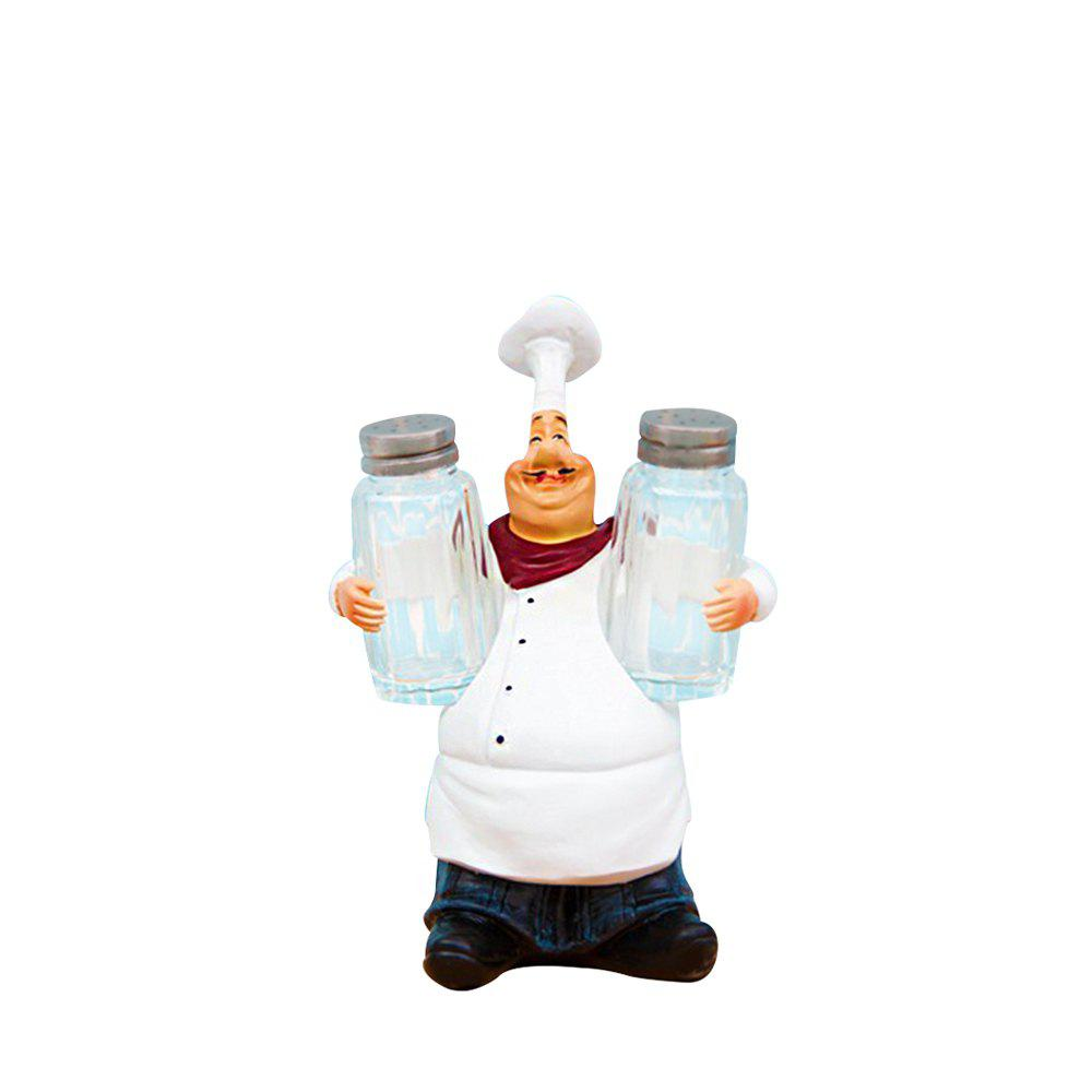 98915 American Country Retro Chef Features Stylish Decorative Ornaments - TRANSPARENT