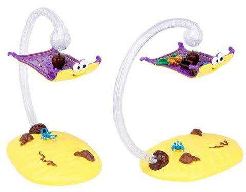Magical Flying Carpet Game Toy - multicolor A