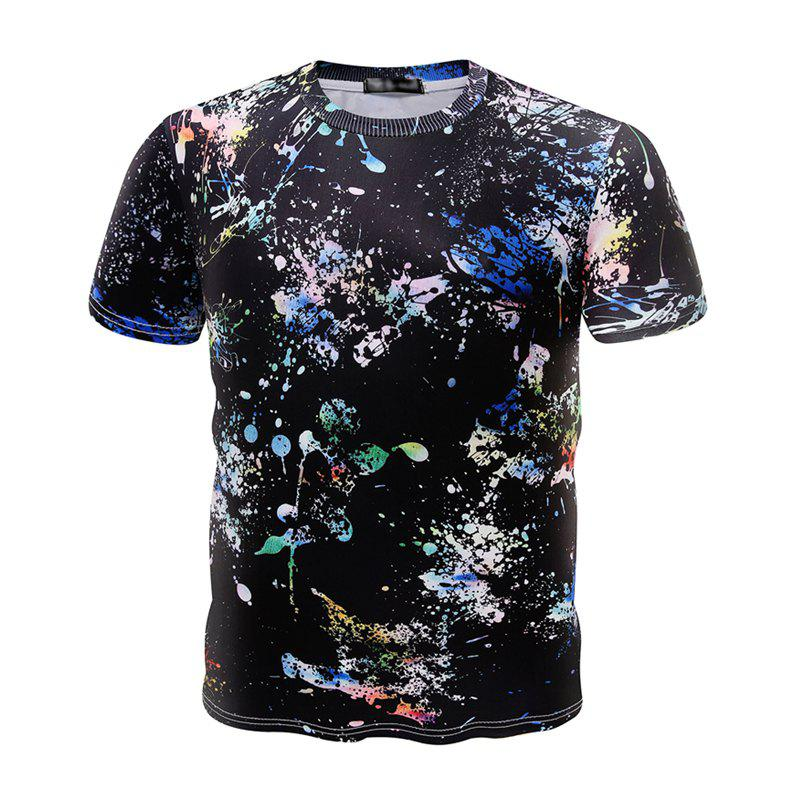 The New Summer Fashion Men's T-shirt - multicolor 3XL
