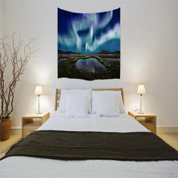 The Aurora 3D Printing Home Wall Hanging Tapestry for Decoration - multicolor A W203CMXL153CM