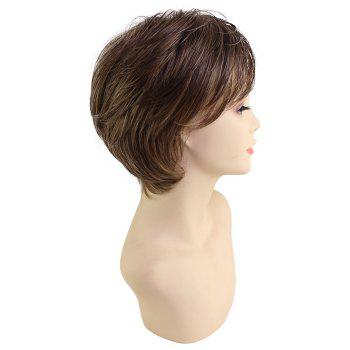 Romantic and Beautiful Brown Transcendental Synthetic Wig - DEEP BROWN
