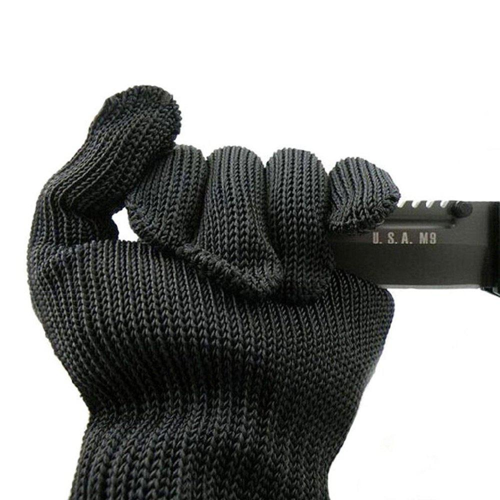 Stainless Steel Level 5 Wire Mesh Cut Resistant Mechanic Kitchen Butcher Gloves 2016 new fireproof glovesaby 5t with 500 degrees high temperature resistant gloves wear cut proof gloves
