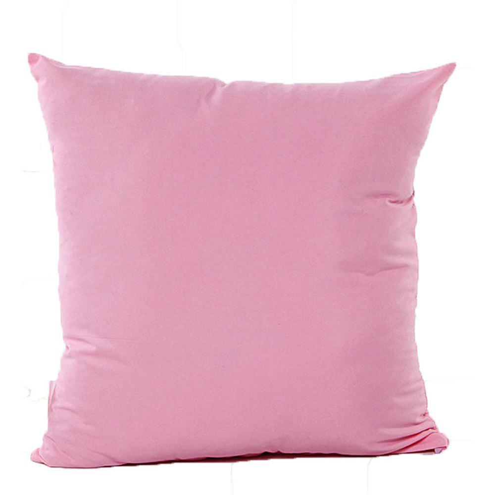 Simple And Pure Color Pillowcase - PINK
