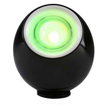 LED Lamp Mood Light with Touchscreen Scroll for Decoration - BLACK