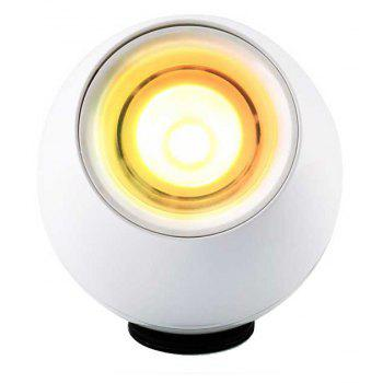 LED Lamp Mood Light with Touchscreen Scroll for Decoration - MILK WHITE