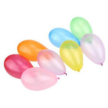 105pcs Float Classic Toys Latex Water Balloons - multicolor