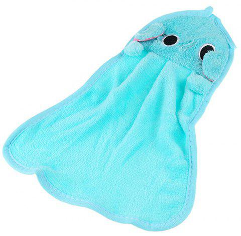 Cute Cartoon Super Soft Coral Towel - CELESTE