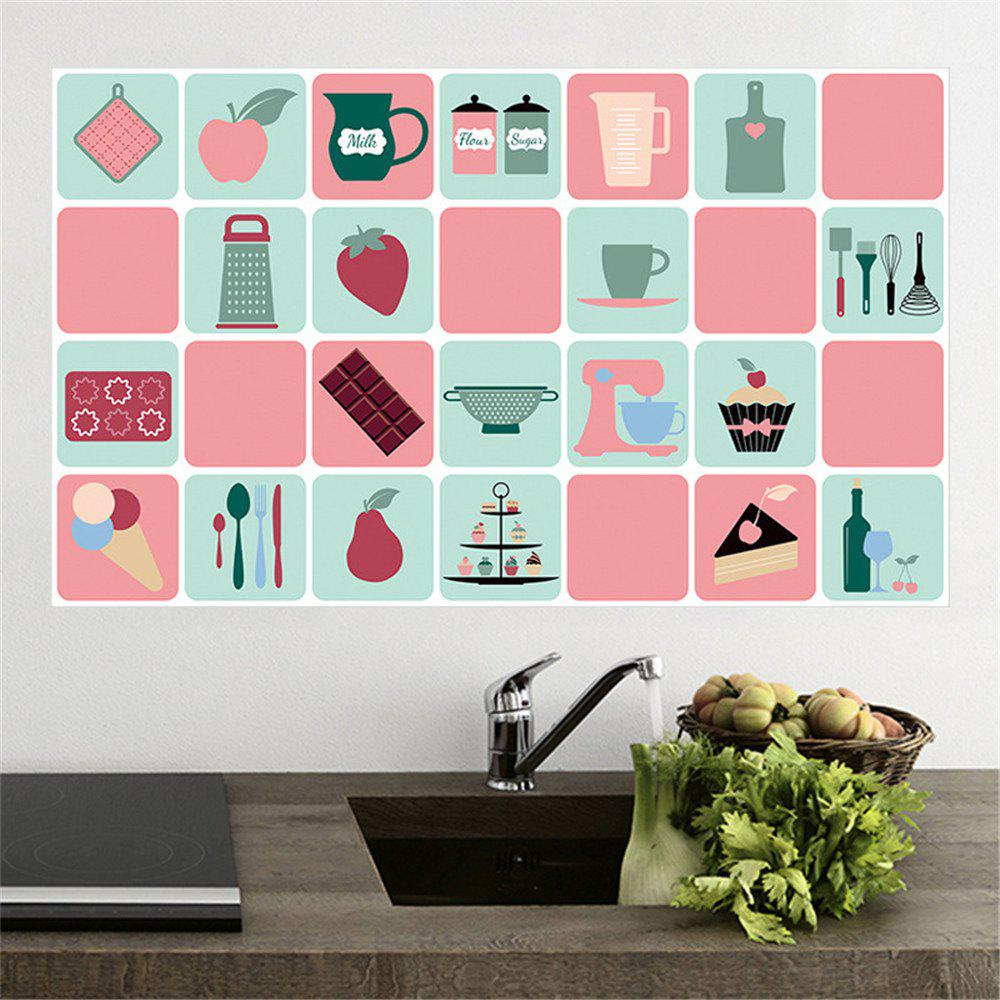 Waterproofing Wallpaper in Kitchen - CADILLAC PINK