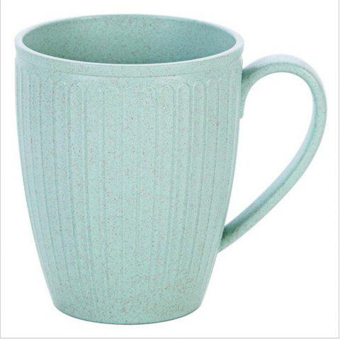 Wheat Straw Toothbrush Cup - NORTHERN LIGHTS BLUE