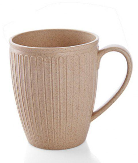 Wheat Straw Toothbrush Cup - SAND