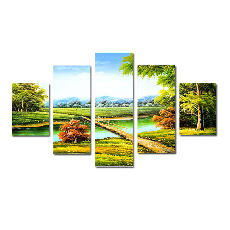 QiaoJiaHuaYuan Modern Simple Living Room Sofa Background Scenery 5PCS kate photo background scenery