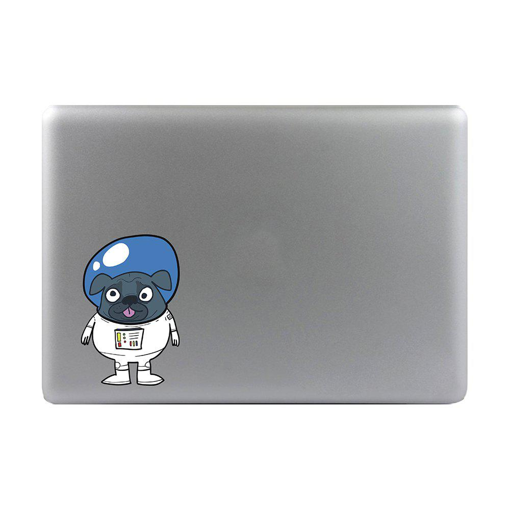 Art Creativity Notebook Refrigerator Luggage Cartoon Alien Dog Sticker Draw M024 - multicolor A