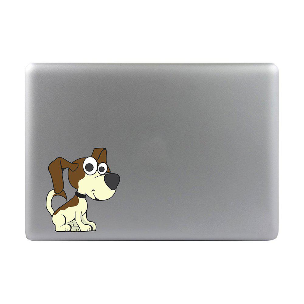 Art Creativity Notebook Refrigerator Luggage Cartoon JackRussellT Stickers M025D - multicolor A