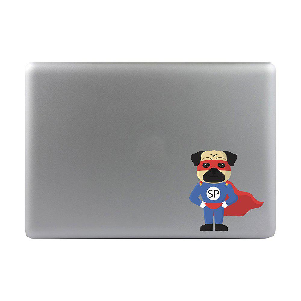 Art Creativity Notebook Refrigerator Luggage Cartoon Superman Dog Sticker M026A - multicolor A