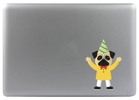 Art Creativity Notebook Refrigerator Luggage Cartoon Dog Sticker M026B - multicolor A