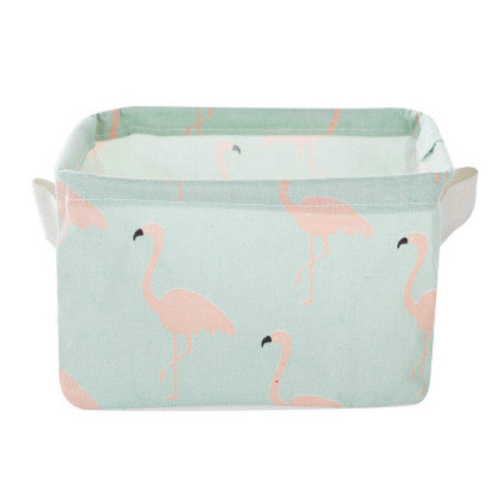 Cartoon Cotton Linen Desktop Storage Box Sundries Storage banana storage box