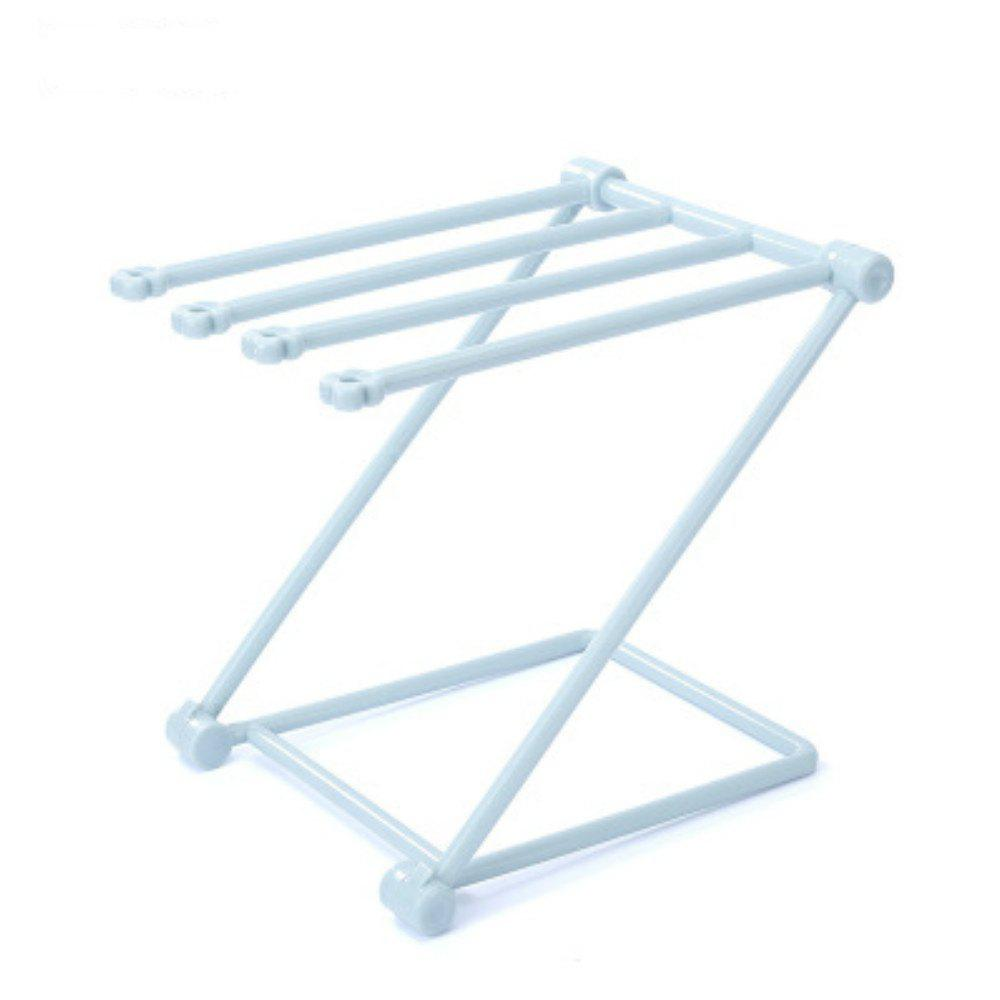 Foldable Rags Kitchen Towels Hanger Table Storage Rack foldable cup rack