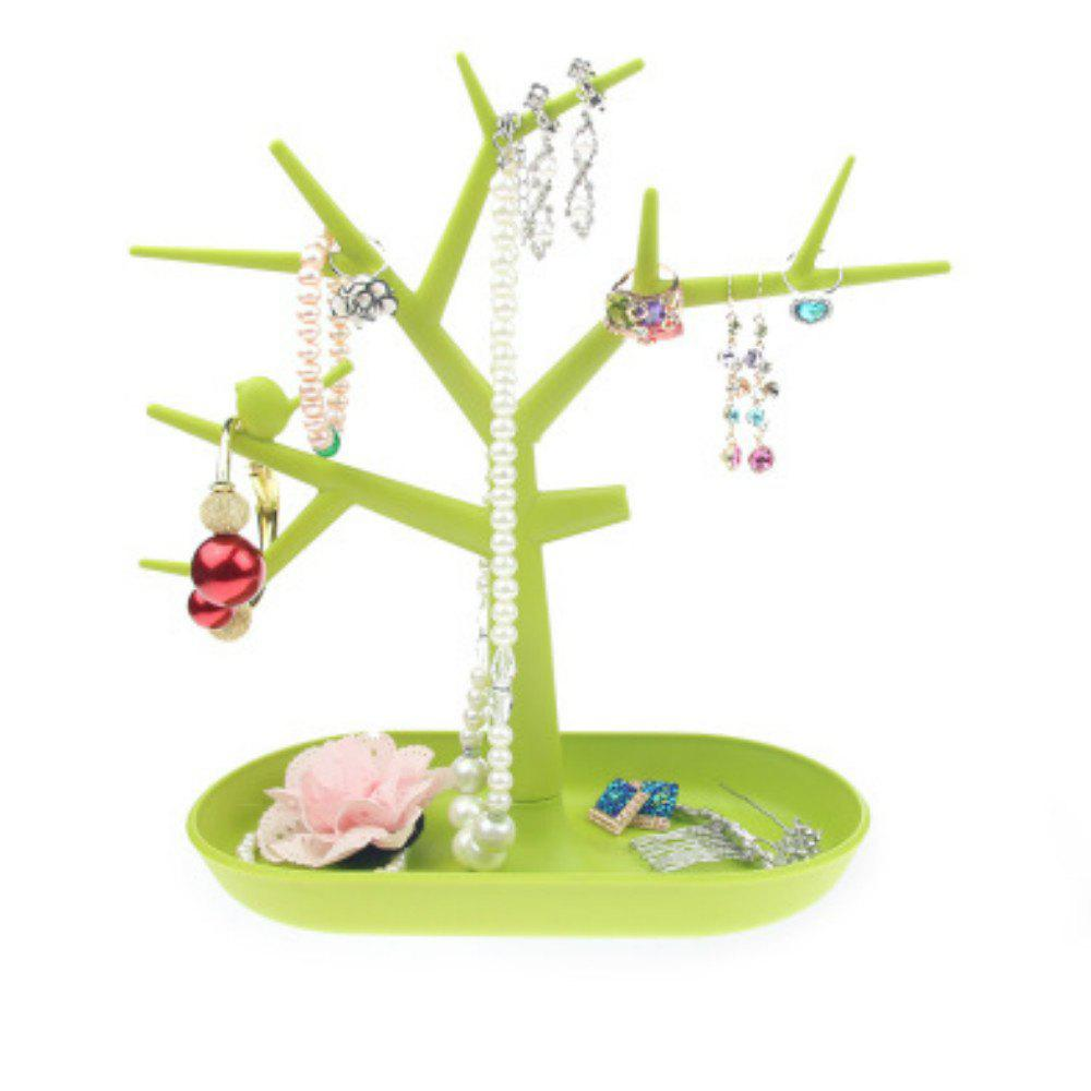 Jewelry Display Holders Racks Necklace Ear Studs Storage plastic clear a6 three tiers acrylic brochure literature leaflet display holders racks stands on desktop 2pcs good packing