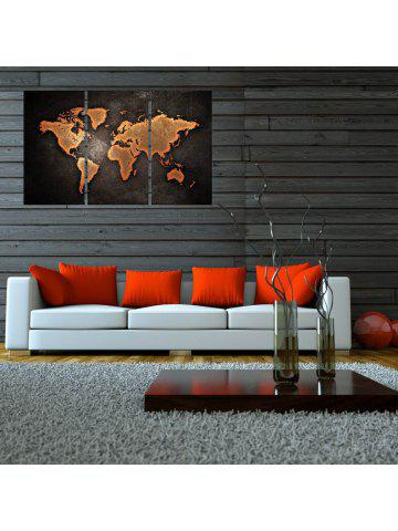 2018 world map online store best world map for sale dresslily w010 world map art wall canvas prints for home decorations 3 pcs gumiabroncs Choice Image