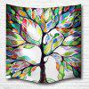 Color of The Tree 3D Printing Home Wall Hanging Tapestry for Decoration - multicolor A W153CMXL102CM