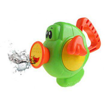 Cartoon Flying Fish Pegasus Squirt Toy for Baby Bathing Time - DRAGON GREEN