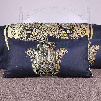 Hamsa Hand Bedding  Duvet Cover Set Digital Print 3pcs - multicolor KING