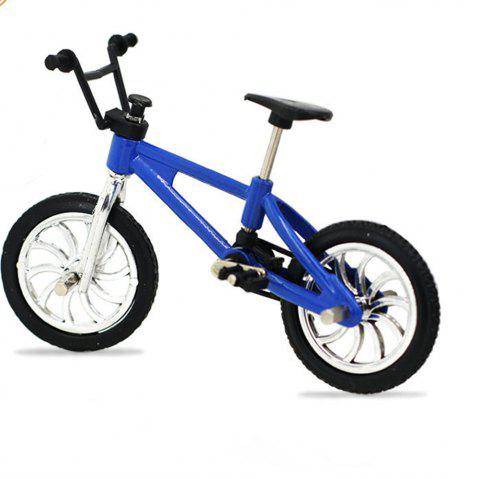 Mini Alloy Finger Bicycle - BLUE