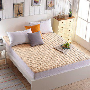Fine Pillow Top Washable Mattress - BROWN TWIN