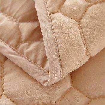 Fine Pillow Top Washable Mattress - BROWN FULL