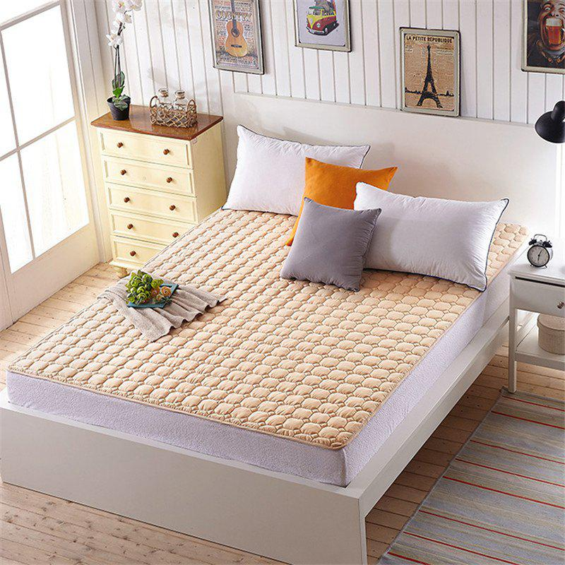 Fine Pillow Top Washable Mattress - BROWN QUEEN