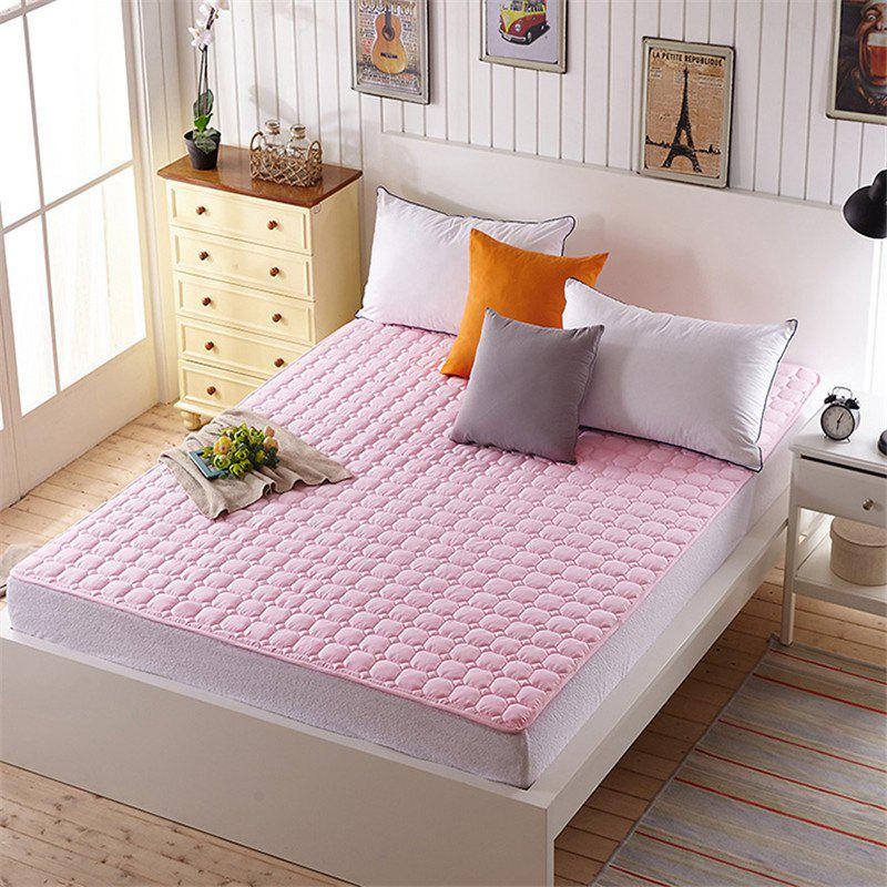 Washable Warm Mattress Cushions - PINK KING
