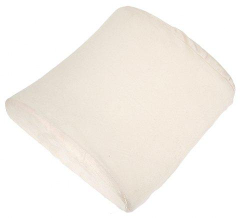 Office Elastic Belt Core Seat Cushion Lumbar Pillow - WHITE