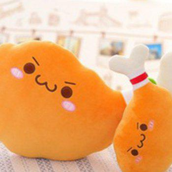 Cute Fried Chicken Plush Toy - CORAL 15X8CM