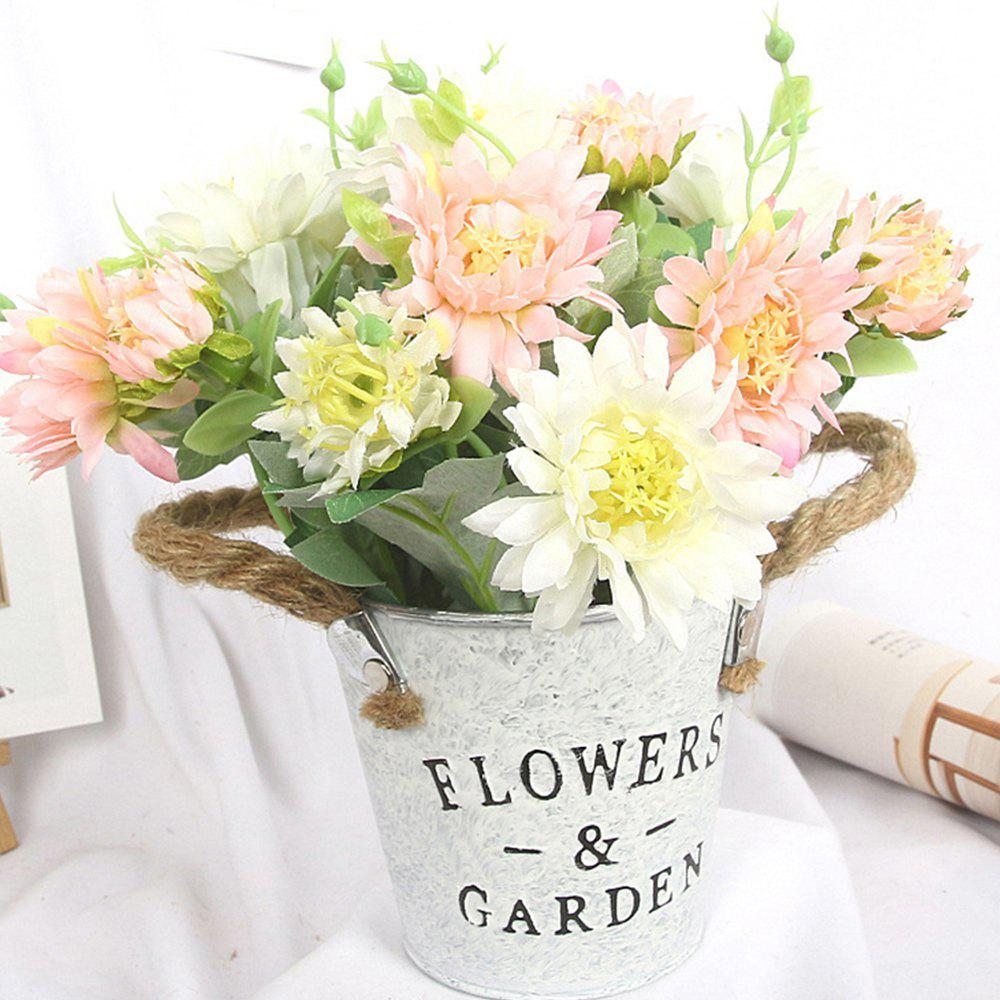 Home Potted Art Flower - LIGHT PINK