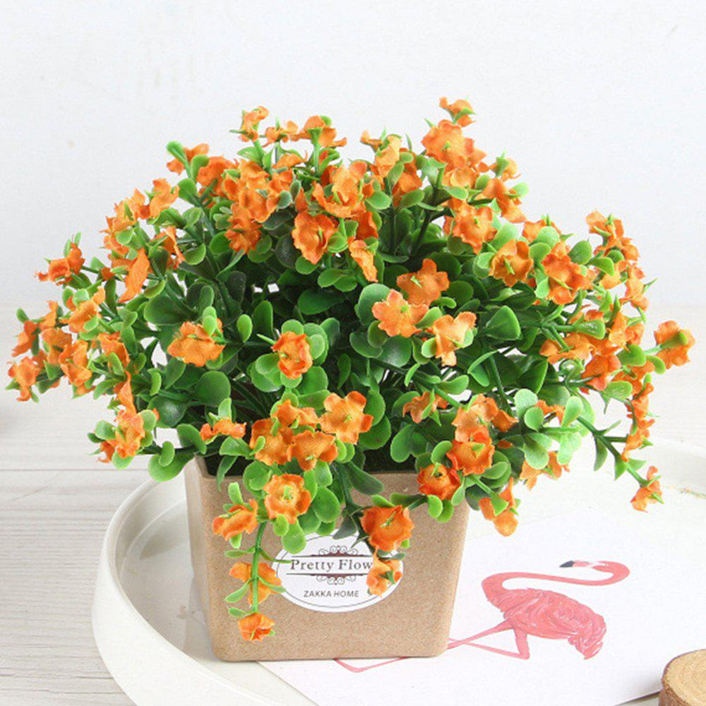 Artificial Plant Decoration Bonsai - TANGERINE