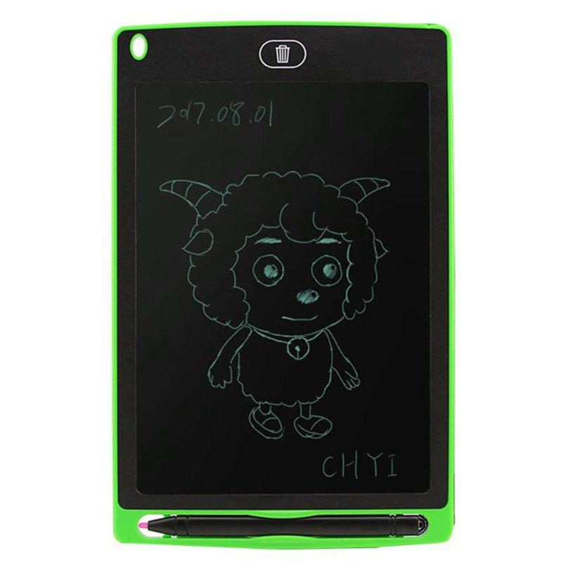 8.5 inch Portable Smart Writing Tablet Electronic Notepad - GREEN