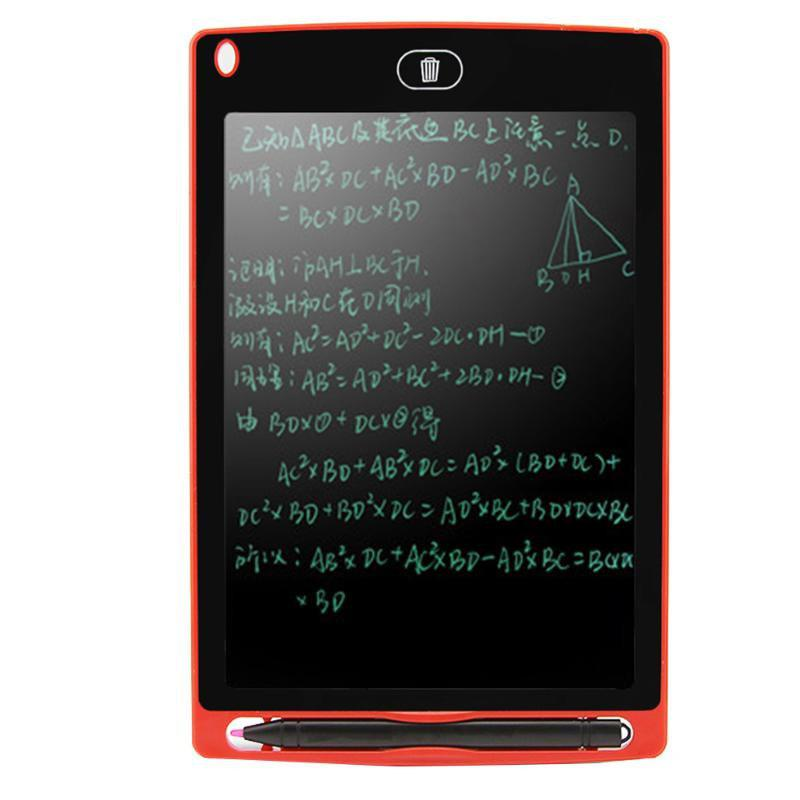 8.5 inch Portable Smart Writing Tablet Electronic Notepad - RED