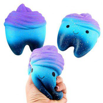 Kids Educational Decompression Toy Jumbo Squishy - multicolor