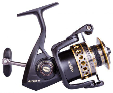 Penn Battle II Spinning Fishing Reel - multicolor A 5000