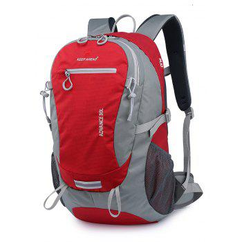 Outdoor Sports Large-capacity Tourist Climbing Backpack - RED