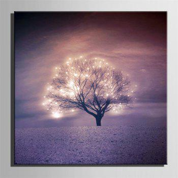Special Design Frameless Paintings Glittering Light Print - multicolor 24 X 24 INCH (60CM X 60CM)