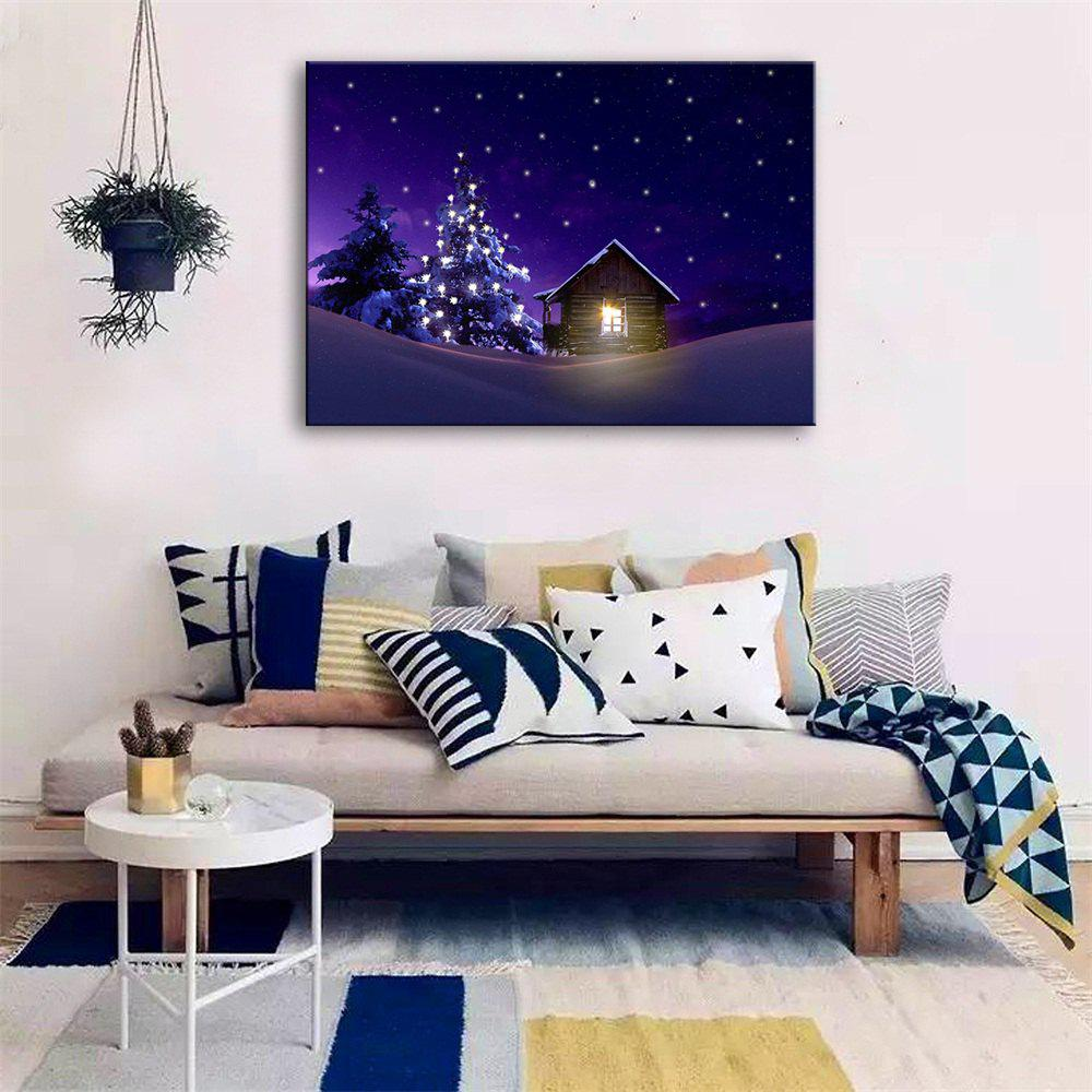 Special Design Frameless Paintings Cozy Print - multicolor 24 X 16 INCH (60CM X 40CM)