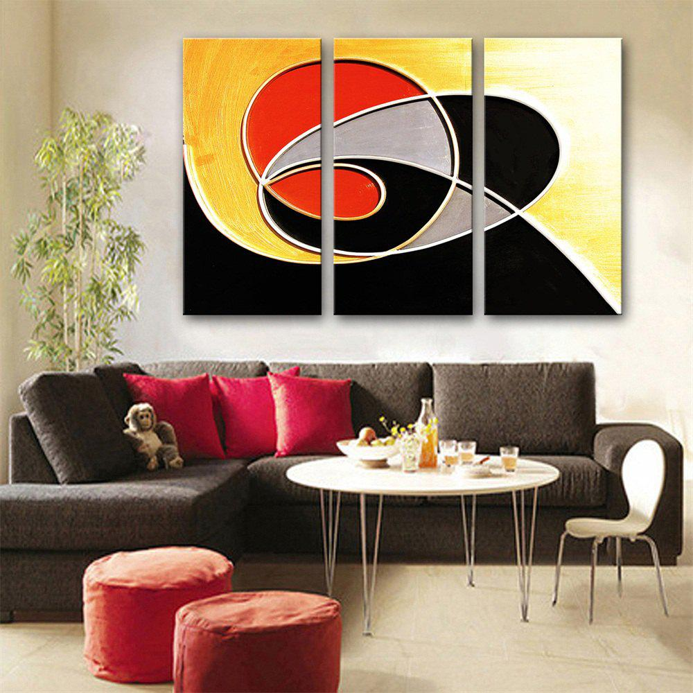 Special Design Frameless Paintings Creative Logo Print 3PCS - multicolor 24 X 16 INCH (60CM X 40CM)
