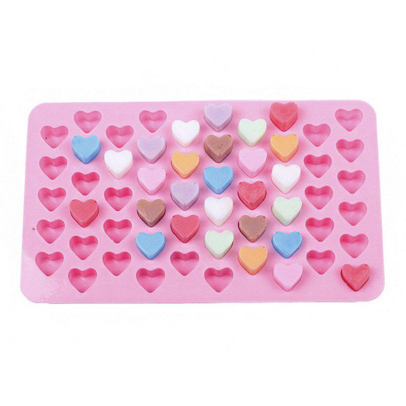 DIHE Silica Gel Cake Loving Heart Chocolate Baking Mold tree shaped silica gel mold